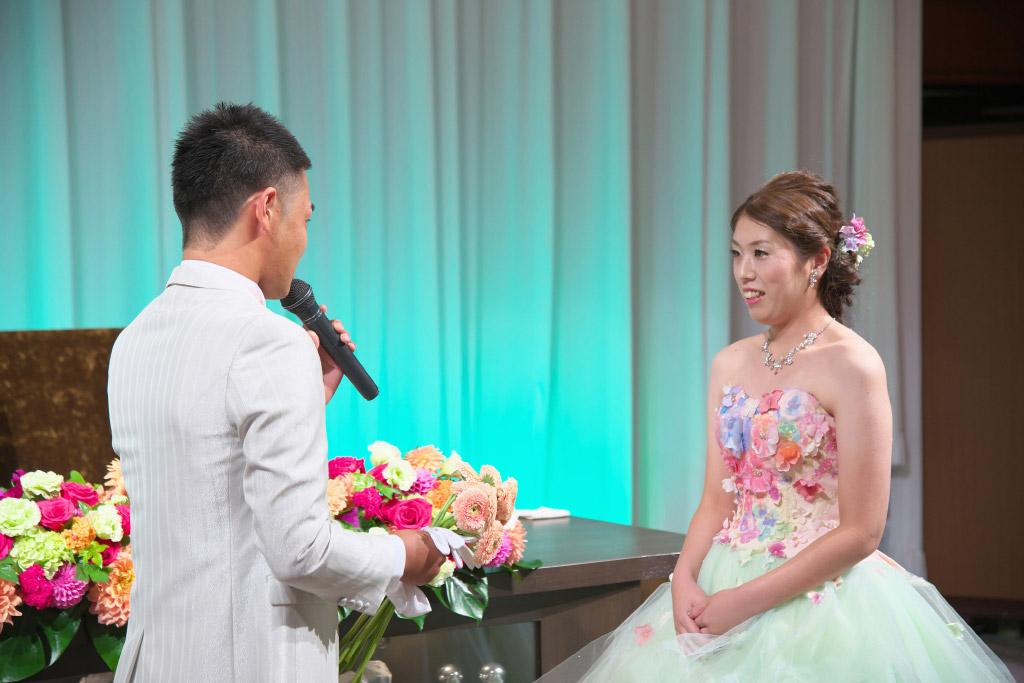 ヒルトン福岡シーホーク結婚式 T様ご夫妻 画像4