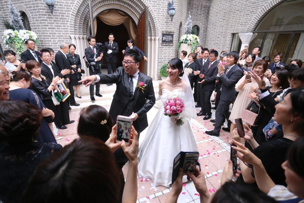 ホテル日航福岡結婚式 馬場様ご夫妻3