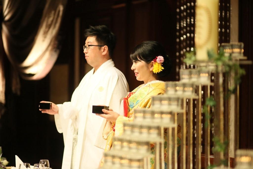 ホテル日航福岡結婚式 馬場様ご夫妻4