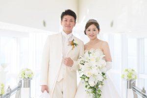 ヒルトン福岡シーホーク結婚式 T様ご夫妻 画像1