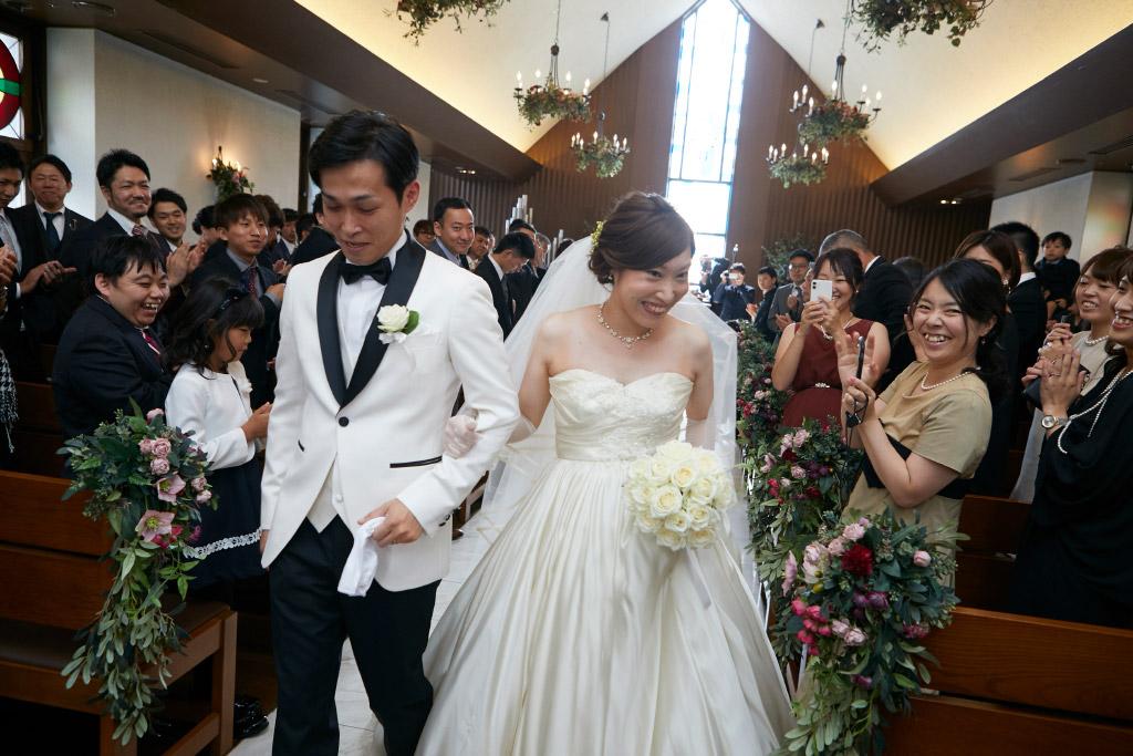 西鉄グランドホテル結婚式 Y様ご夫妻 画像3
